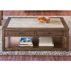 Buy Liberty Furniture Mesa Valley Occasional 47x30 Cocktail Table on sale online