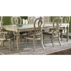Buy Liberty Furniture Messina Estates II 108x44 Rectangular Dining Table in Ivory, Light Wood on sale online