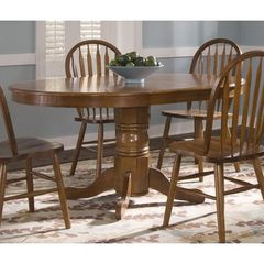 Buy Liberty Furniture Nostalgia Traditional 60x42 Oval Dining Table in Oak on sale online