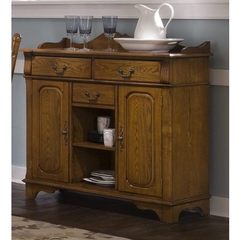 Buy Liberty Furniture Nostalgia Traditional Rectangular 44x17 Server in Oak on sale online