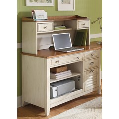 Buy Liberty Furniture Ocean Isle 2 Piece Computer Credenza w/ Hutch on sale online