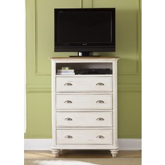 Buy Liberty Furniture Ocean Isle 36x17 Media Chest w/ 4 Drawers on sale online