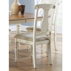 Buy Liberty Furniture Ocean Isle Traditional Side Chair in Bisque White, Beige on sale online
