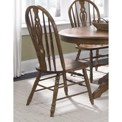 Buy Liberty Furniture Old World Traditional Windsor Side Chair in Oak on sale online
