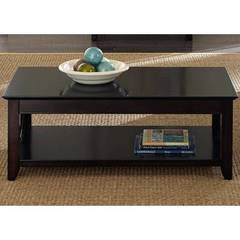 Buy Liberty Furniture Piedmont 47x27 Rectangular Cocktail Table in Dark Mocha on sale online