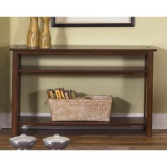 Buy Liberty Furniture Prairie Hills 46x16 Rectangular Sofa Table in Cherry, Medium Wood on sale online