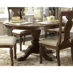 Buy Liberty Furniture Rustic Tradition 72x54 Oval Dining Table in Cherry, Medium Wood on sale online
