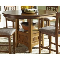 Buy Liberty Furniture Santa Rosa 60x42 Pub Table in Mission Oak on sale online