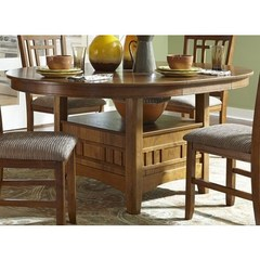 Buy Liberty Furniture Santa Rosa 66x48 Pedestal Table on sale online