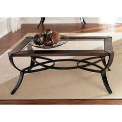 Buy Liberty Furniture Skylights 49x29 Rectangular Cocktail Table in Sienna on sale online