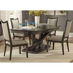 Buy Liberty Furniture Southpark 5 Piece 84x48 Rectangular Dining Room Set on sale online