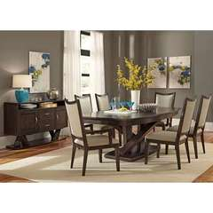 Buy Liberty Furniture Southpark 8 Piece 84x48 Rectangular Dining Room Set on sale online