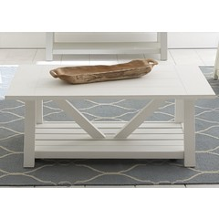 Buy Liberty Furniture Summer House 48x26 Rectangular Cocktail Table on sale online