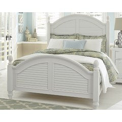 Buy Liberty Furniture Summer House I Poster Bed in White on sale online