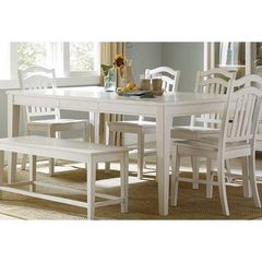 Buy Liberty Furniture Summerhill 72x40 Rectangular Dining Table in White on sale online