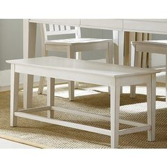 Buy Liberty Furniture 44x16 Inch Summerhill Country Bench in White on sale online