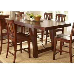 Buy Liberty Furniture Tahoe 84x40 Rectangular Gathering Table in Mahogany Stain on sale online