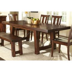Buy Liberty Furniture Tahoe 90x40 Rectangular Dining Table in Mahogany on sale online