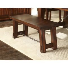 Buy Liberty Furniture 42x17 Inch Tahoe Bench in Mahogany on sale online