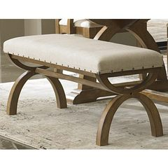 Buy Liberty Furniture 45x16 Inch Town & Country Bench in Sand, Light Wood on sale online