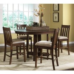 Buy Liberty Furniture Urban Mission 5 Piece 60x42 Pub Table Set in Oak on sale online