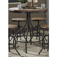 Buy Liberty Furniture Vintage Series 36x36 Round Pub Table on sale online