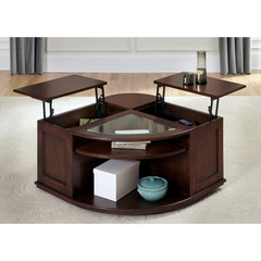 Buy Liberty Furniture Wallace 36 Inch Cocktail Table in Dark Toffee on sale online