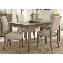 Buy Liberty Furniture Weatherford 5 Piece 72x38 Rectangular Dining Room Set on sale online