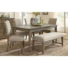 Buy Liberty Furniture Weatherford 6 Piece 72x38 Rectangular Dining Room Set on sale online
