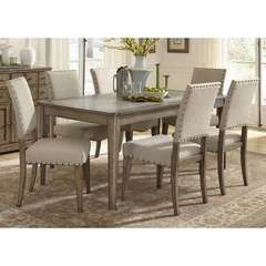 Buy Liberty Furniture Weatherford 7 Piece 72x38 Rectangular Dining Room Set on sale online