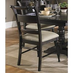 Buy Liberty Furniture Whitney Slat Back Side Chair in Black Cherry, Dark Wood on sale online