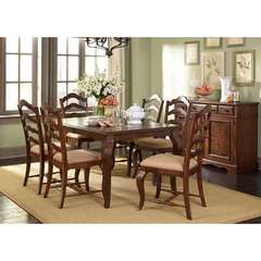 Buy Liberty Furniture Woodland Creek 8 Piece 78x40 Rectangular Dining Room Set on sale online