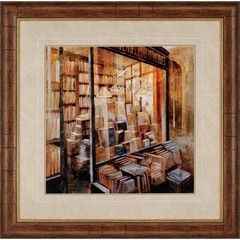 Buy Paragon Librairie 38x38 Framed Wall Art  on sale online