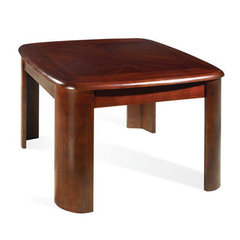 Buy Steve Silver Lidya 27 Inch Square End Table in Dark Cherry on sale online