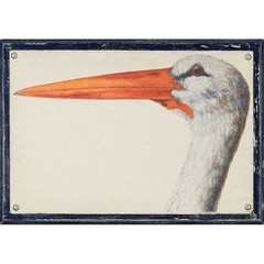 Buy Paragon Linen Water Bird 26x18 Framed Wall Art  on sale online