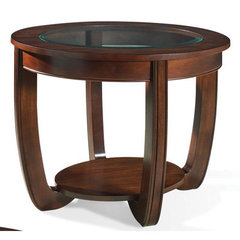 Buy Steve Silver London 30x24 End Table in Rich Cherry on sale online