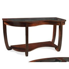 Buy Steve Silver London 51x20 Sofa Table in Rich Cherry on sale online
