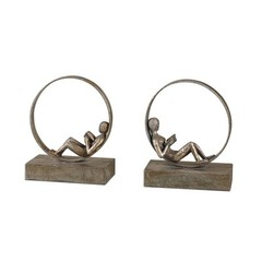 Buy Uttermost Lounging Reader Bookends (Set of 2) on sale online