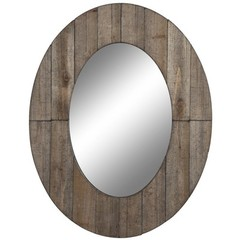 Buy Cooper Classics Mammoth Mirror in Rustic Grey on sale online