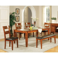 Buy Steve Silver Mango 6 Piece 60x42 Dining Room Set on sale online