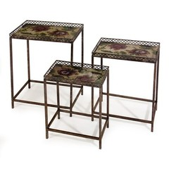 Buy IMAX Worldwide Maniera Nesting Tables (Set of 3) on sale online