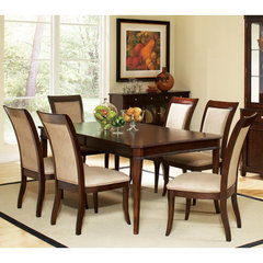Buy Steve Silver Marseille 7 Piece 72x44 Dining Room Set on sale online