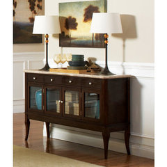 Buy Steve Silver Marseille Marble Top Sideboard on sale online