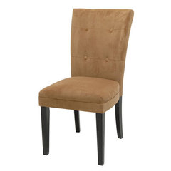 Buy Steve Silver Matinee Parson Side Chair in Camel on sale online
