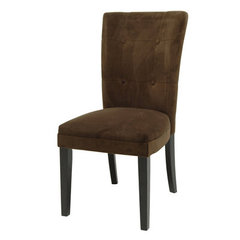 Buy Steve Silver Matinee Parson Side Chair in Chocolate on sale online