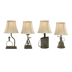 Buy IMAX Worldwide Mayberry Utensil Mini Lamps (Set of 4) on sale online