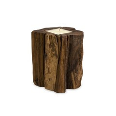 Buy IMAX Worldwide Medium Teakwood Candle on sale online