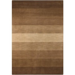 Buy Chandra Rugs Metro Hand-Tufted Contemporary Brown Rug - MET564 on sale online