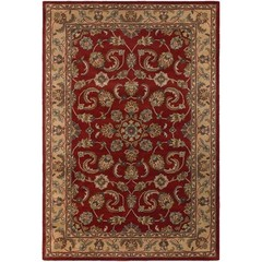 Buy Chandra Rugs Metro Hand-Tufted Contemporary Red Rug - MET560 on sale online