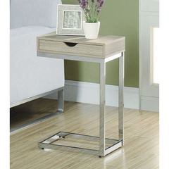 Buy Monarch Specialties 16x10 Rectangular Reclaimed-Look Accent Table in Natural on sale online